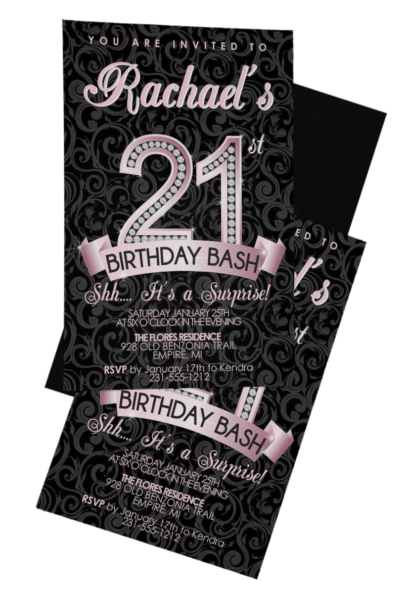 21st Birthday Invitations Innovative Marketing and Publishing Inc