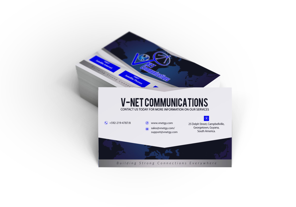 V-NET Communications Business Card – Innovative Marketing and ...