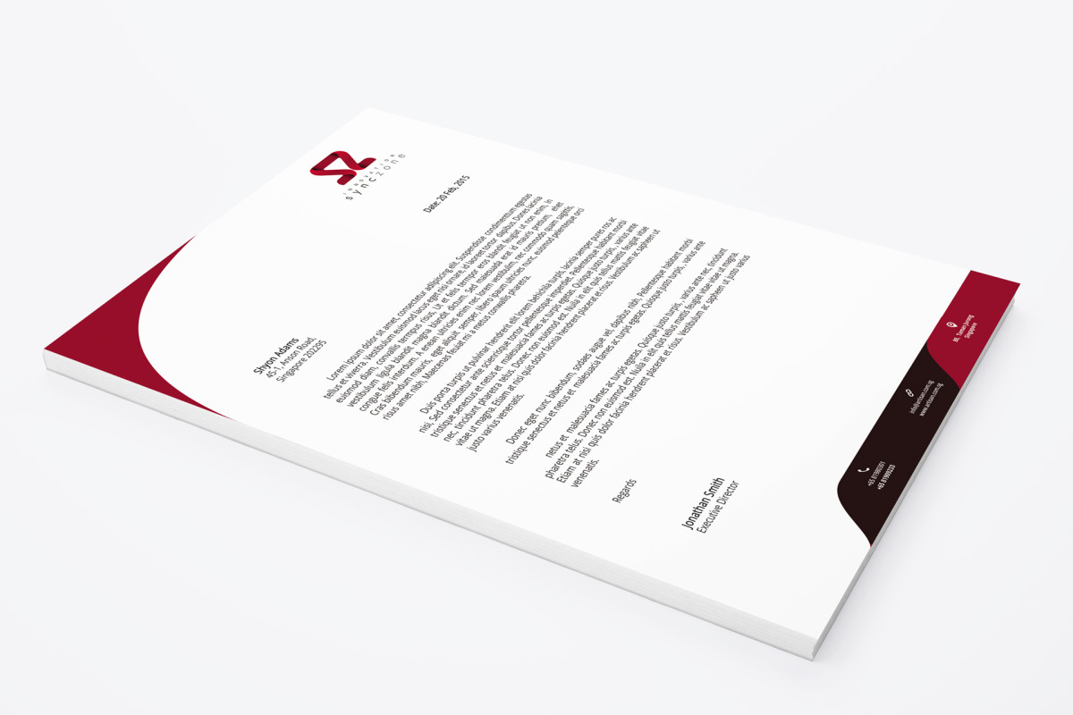 Letterheads – Innovative Marketing and Publishing Inc.